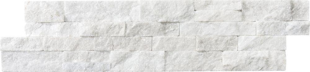 Anatolia Tile 6-Inch x 24-Inch Glacier Ledger Stone Tile
