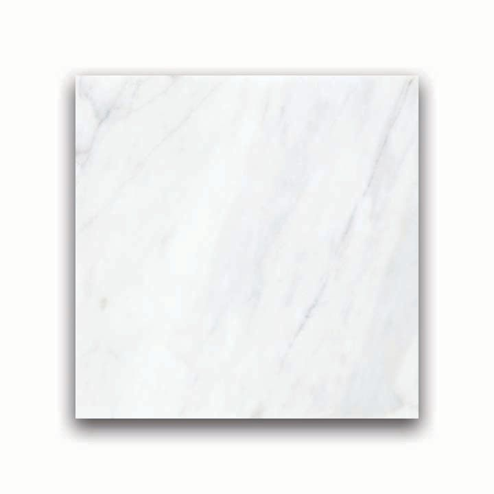 Polished Bianco Venatino Marble - 12 Inches x 12 Inches