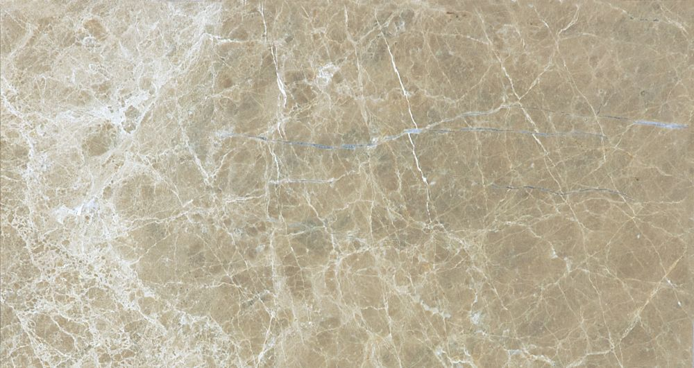 3-Inch x 6-Inch Honed Emperador Light Marble (5.5 sq. ft./case)