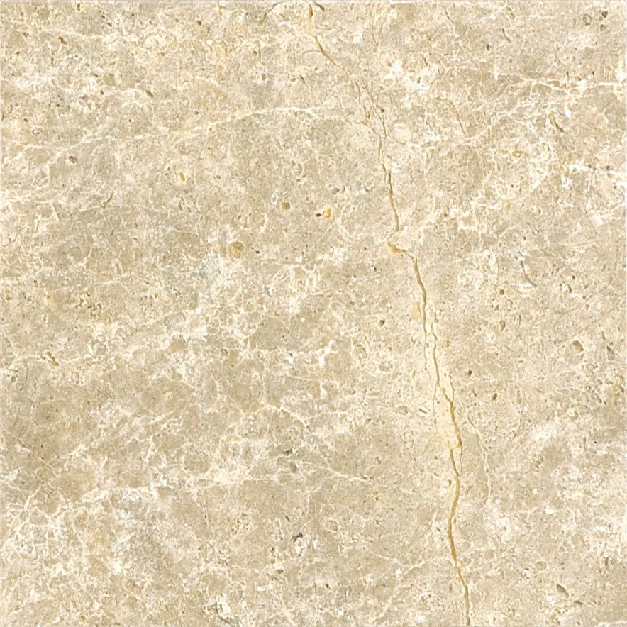 6-Inch x 6-Inch Honed Emperador Light Marble (5.5 sq. ft./case)