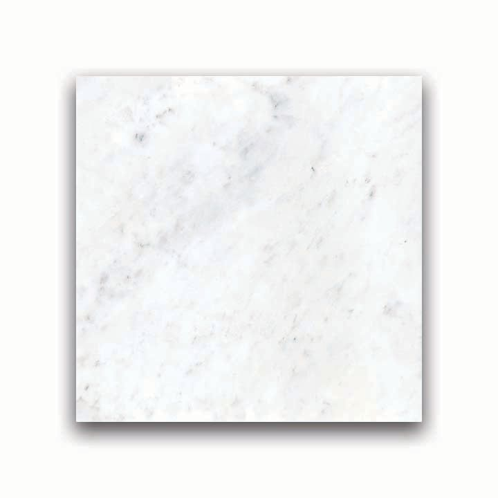18-Inch x 18-Inch Polished Bianco Venatino Marble (9 sq. ft./case)