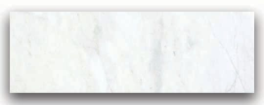 6-Inch x 18-Inch Polished Bianco Venatino Marble (9 sq. ft./case)