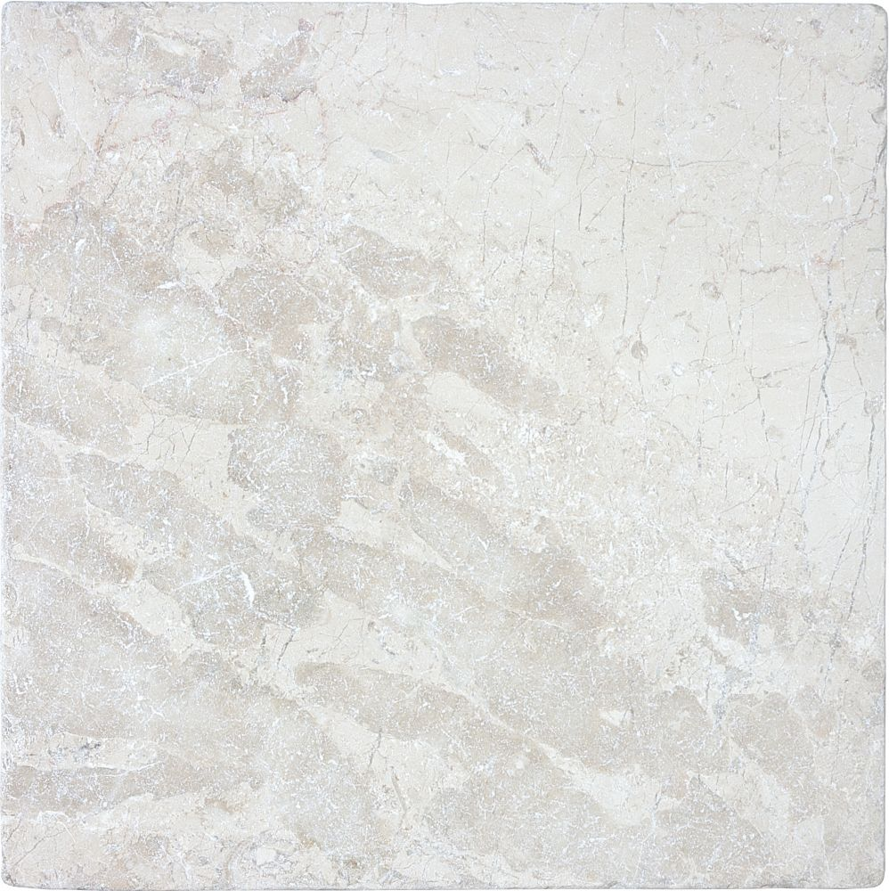 12-Inch x 12-Inch Tumbled Berkshire Crema Tile (10 sq. ft./case)