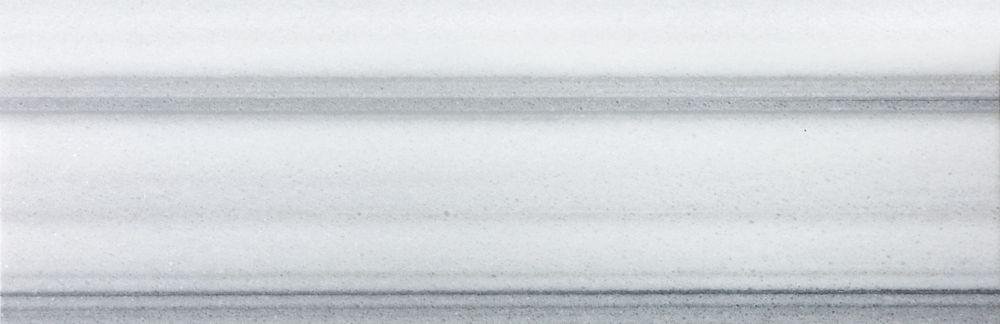 6-Inch x 18-Inch Honed Fluid Marble