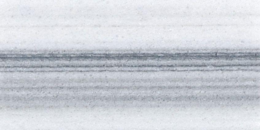 Marbre Fluid poli de 3po × 6po