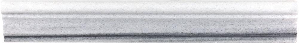 2-Inch x 12-Inch Polished Fluid Aspendos Chair Rail