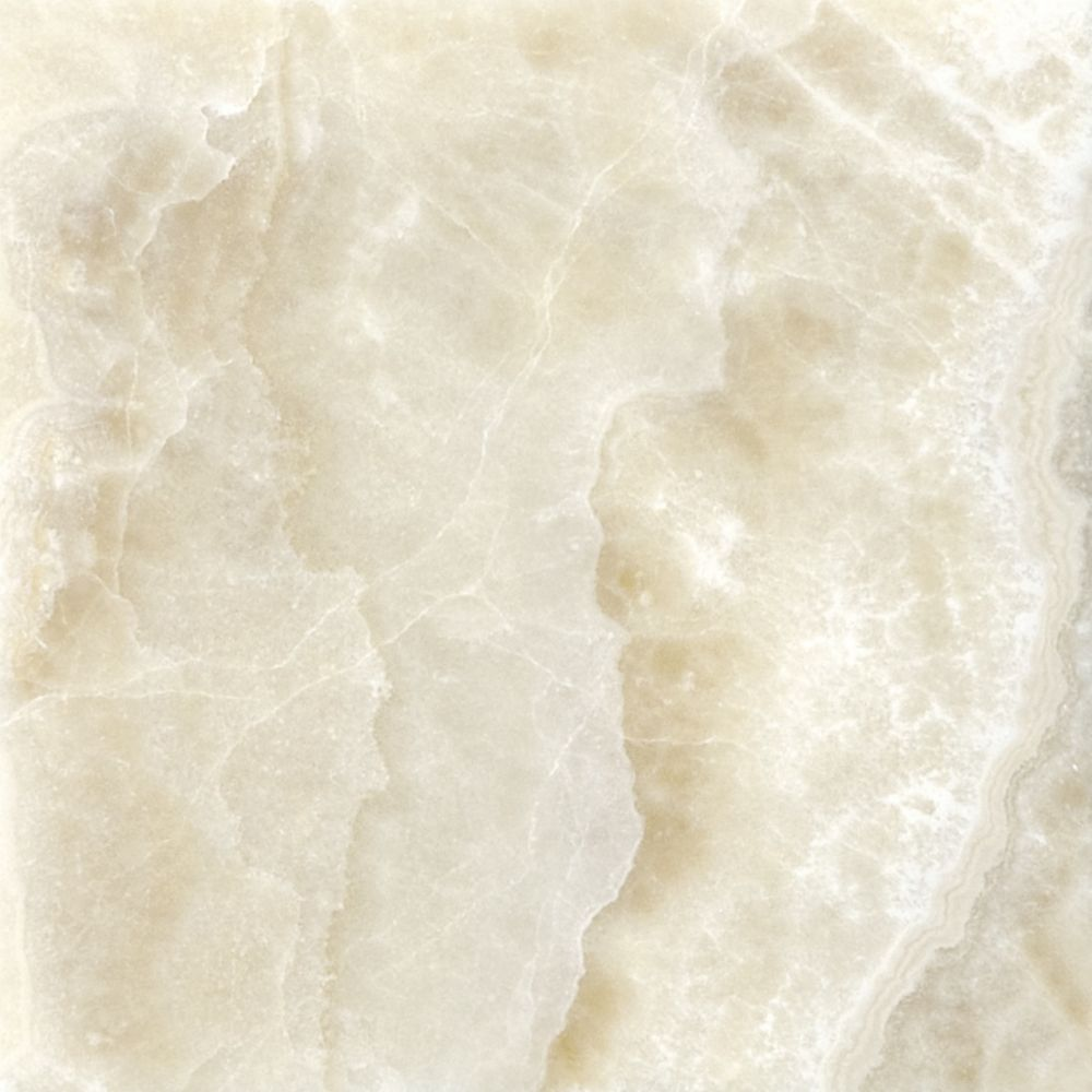 Polished Crema Onyx  - 4 Inches x 4 Inches -( 5.38 Sq. Ft./Case)