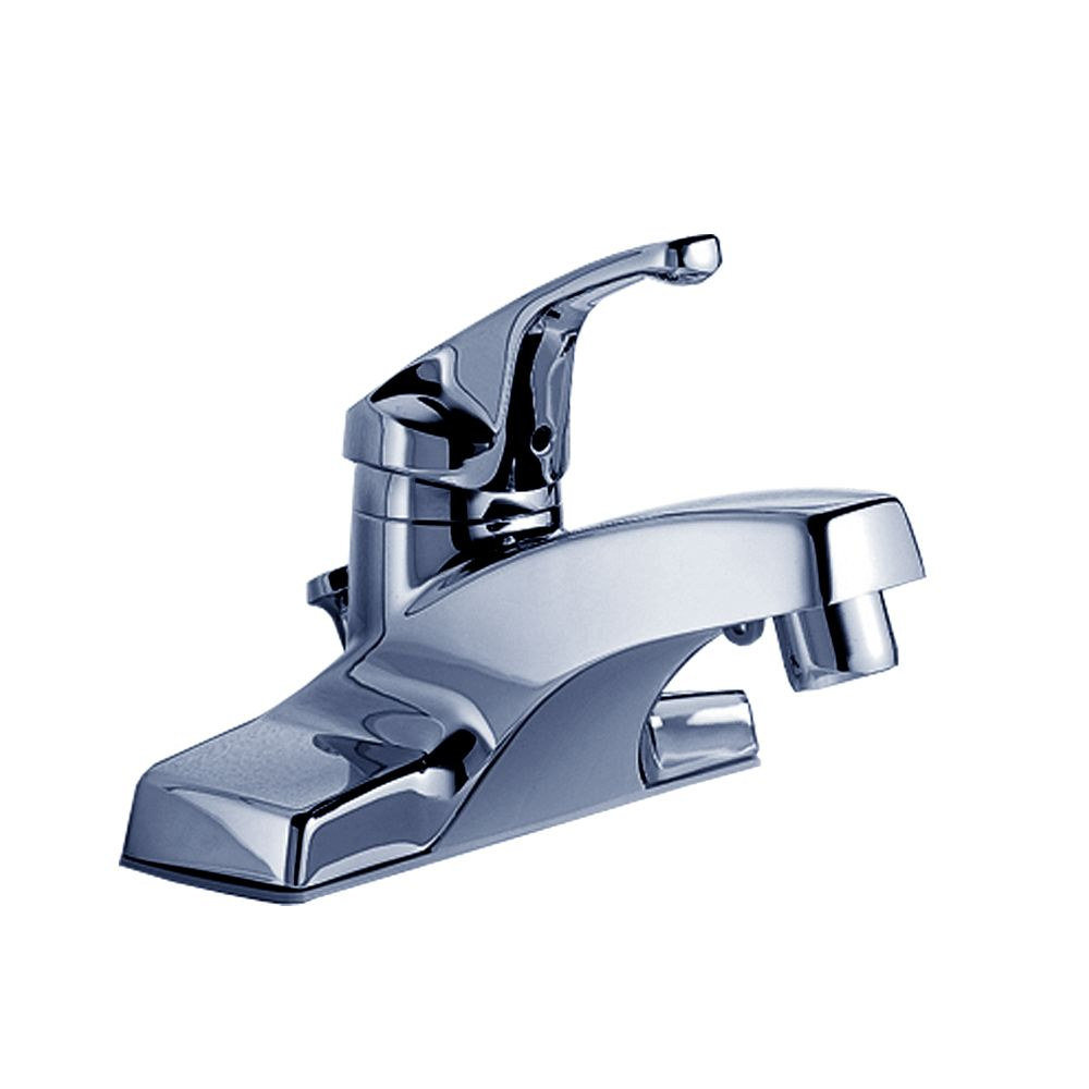Colony 4-inch Single-Handle Bathroom Faucet in Polished Chrome Finish