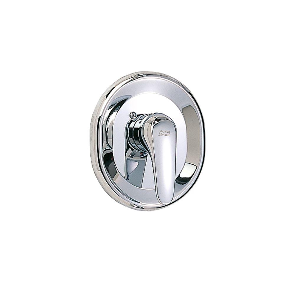Seva 1-Handle Bath/Shower Valve Only Trim Kit in Polished Chrome (Valve Not Included)