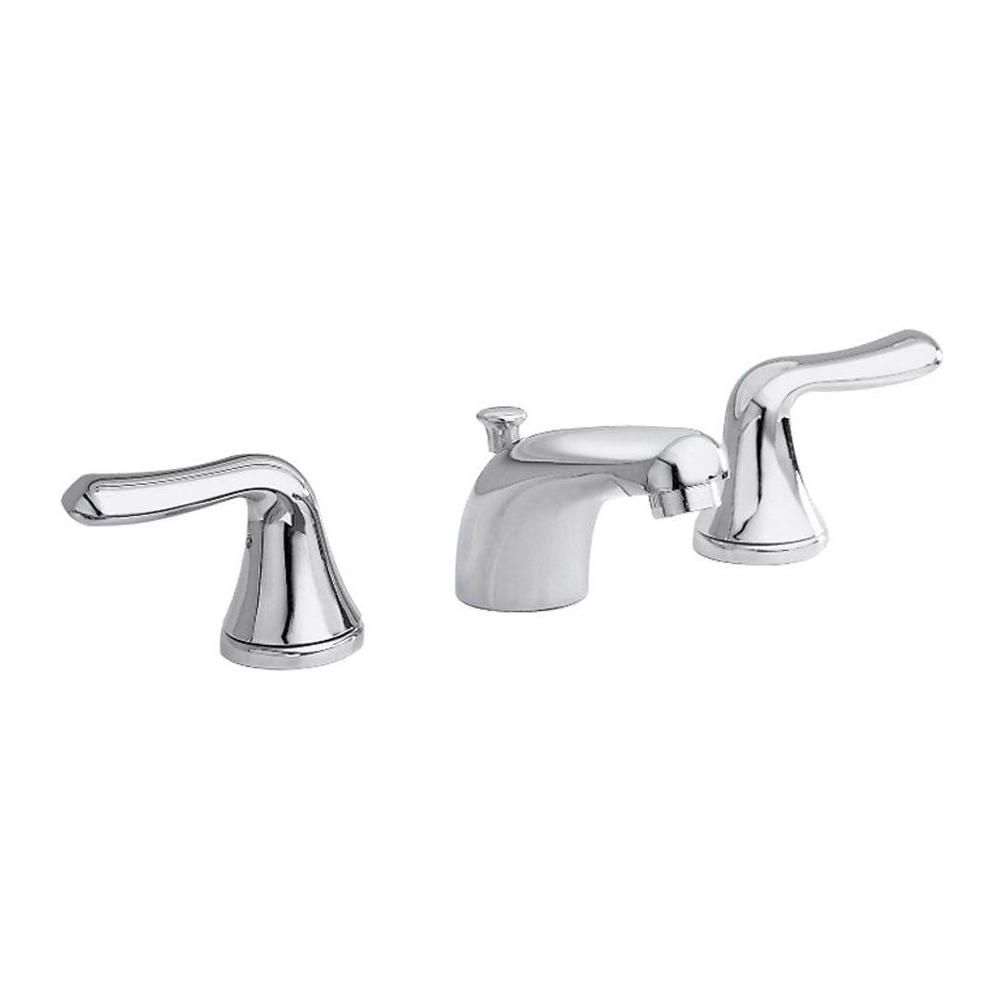 Colony Soft 8-inch Widespread 2-Handle Bathroom Faucet in Polished Chrome Finish