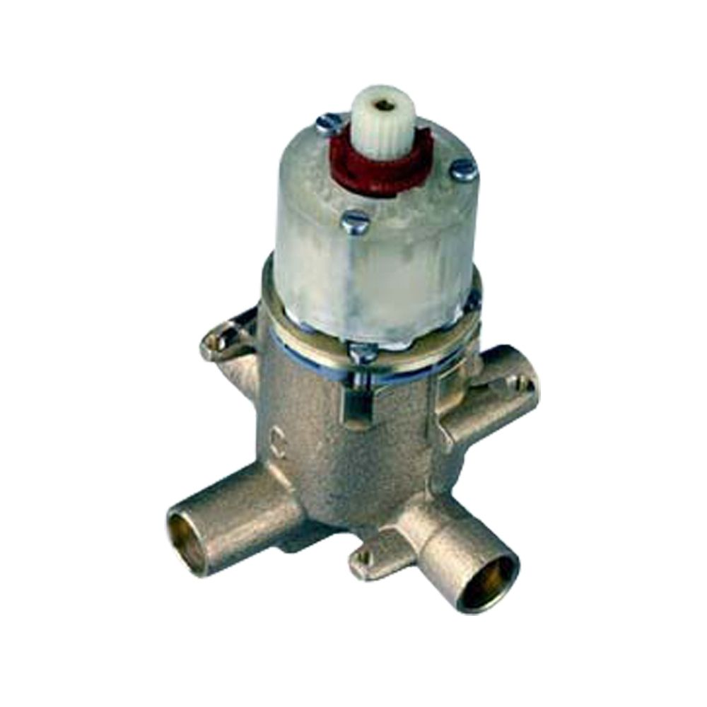 Pressure Balance Rough Volume Control Valve Body with Integral Diverter