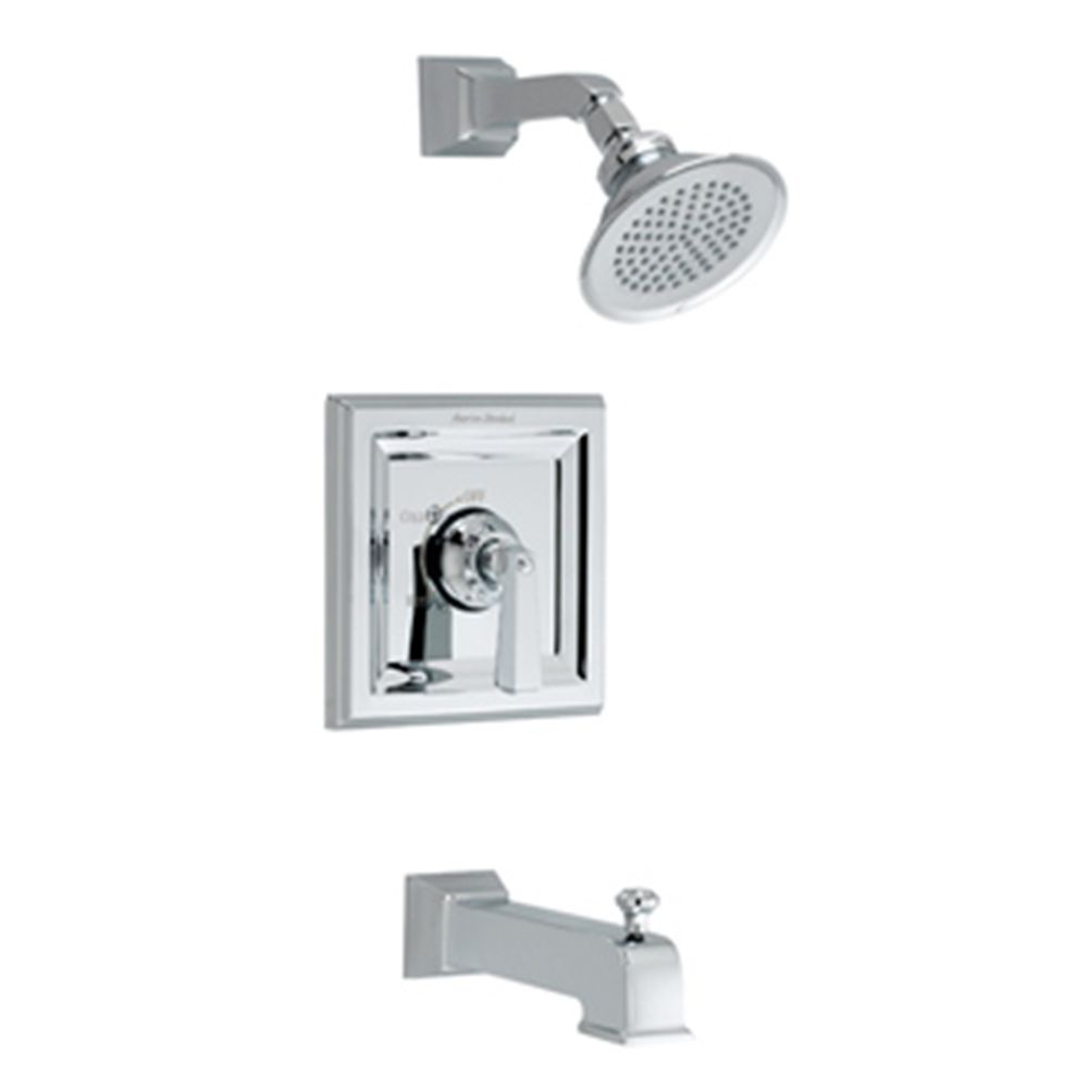 Town Square Bath/Shower Faucet in Chrome