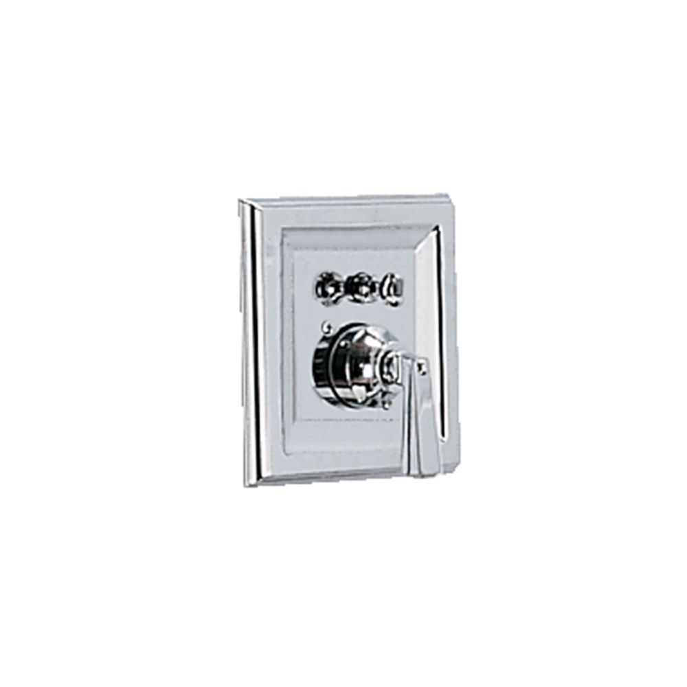 Town Square 1-Handle Bath/Shower Valve Only Trim Kit in Polished Chrome (Valve Not Included)