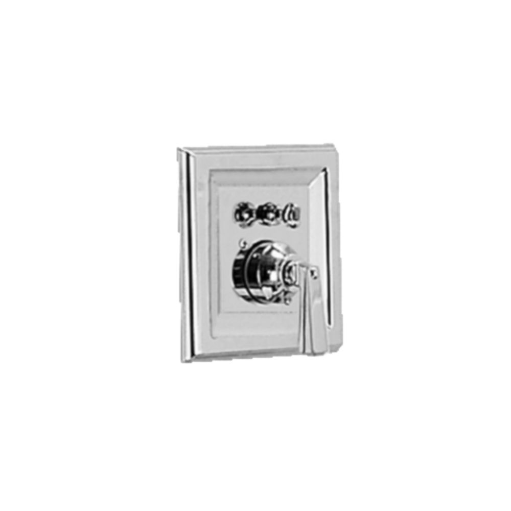 Town Square 1-Handle Bath/Shower Valve Only Trim Kit in Satin Nickel (Valve Not Included)