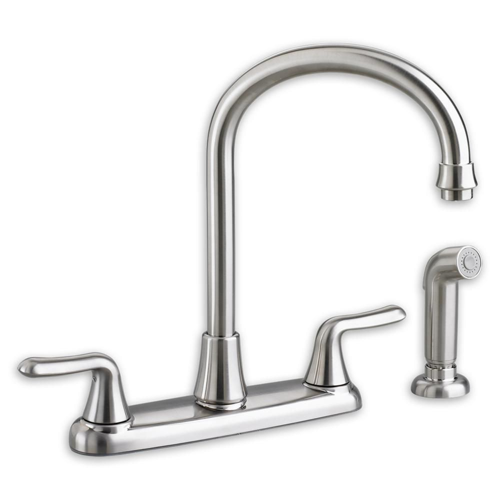 Colony Soft 2-Handle Kitchen Faucet in Polished Chrome