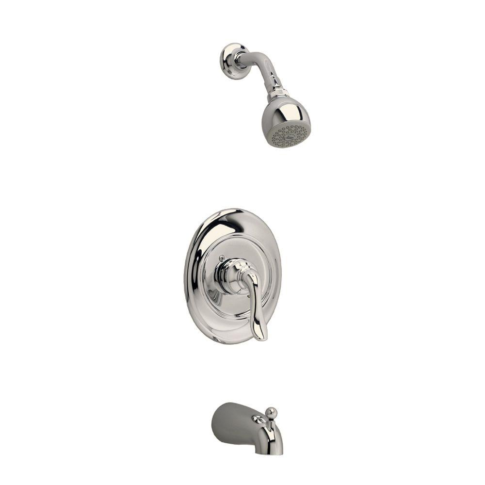 Princeton Bath/Shower Faucet in Satin Nickel