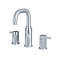 American Standard Serin 8-inch Widespread 2-Handle High-Arc Bathroom Faucet in Polished Chrome Finish