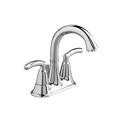 American Standard Tropic Inch Bathroom Faucet With Speed Connect - How to install a bathroom faucet with pop up drain
