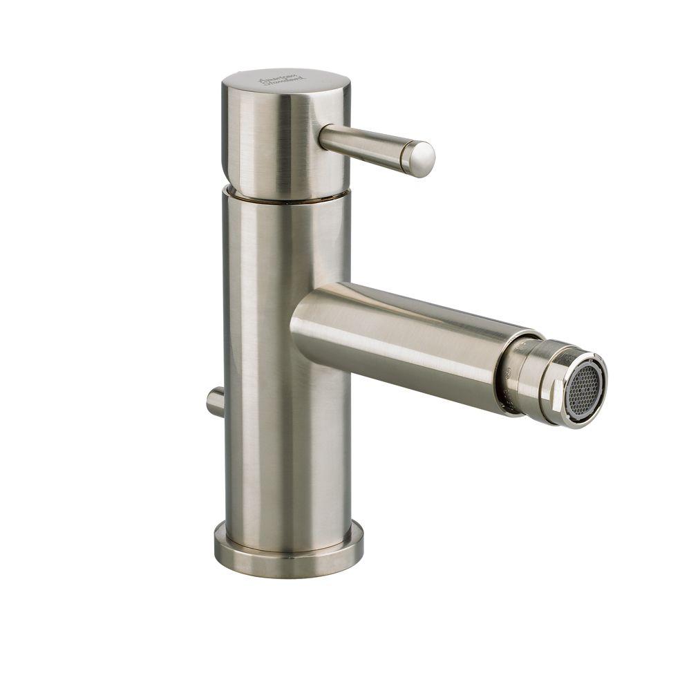 Serin Single-Handle Bidet Faucet in Satin Nickel