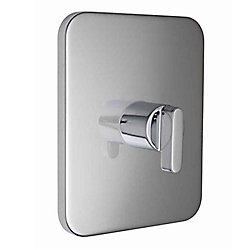 American Standard Moments 1-Handle Central Thermostatic Valve Trim Kit in Polished Chrome (Valve Not Included)
