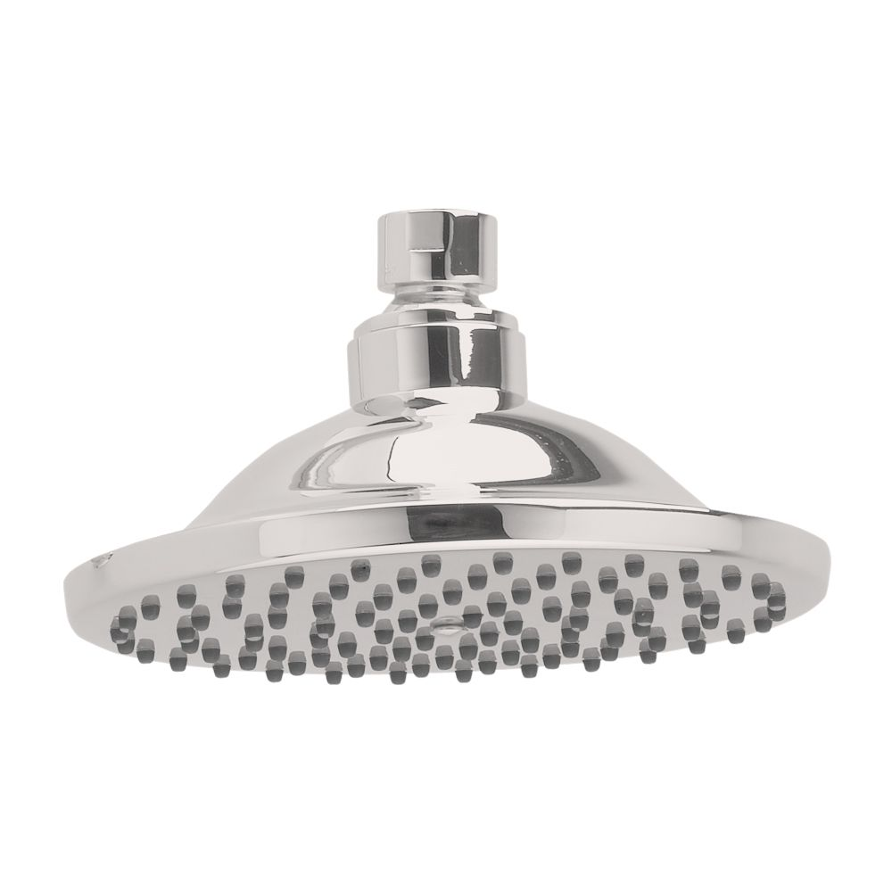 Raincan 6-inch Easy-Clean Showerhead in Satin Nickel