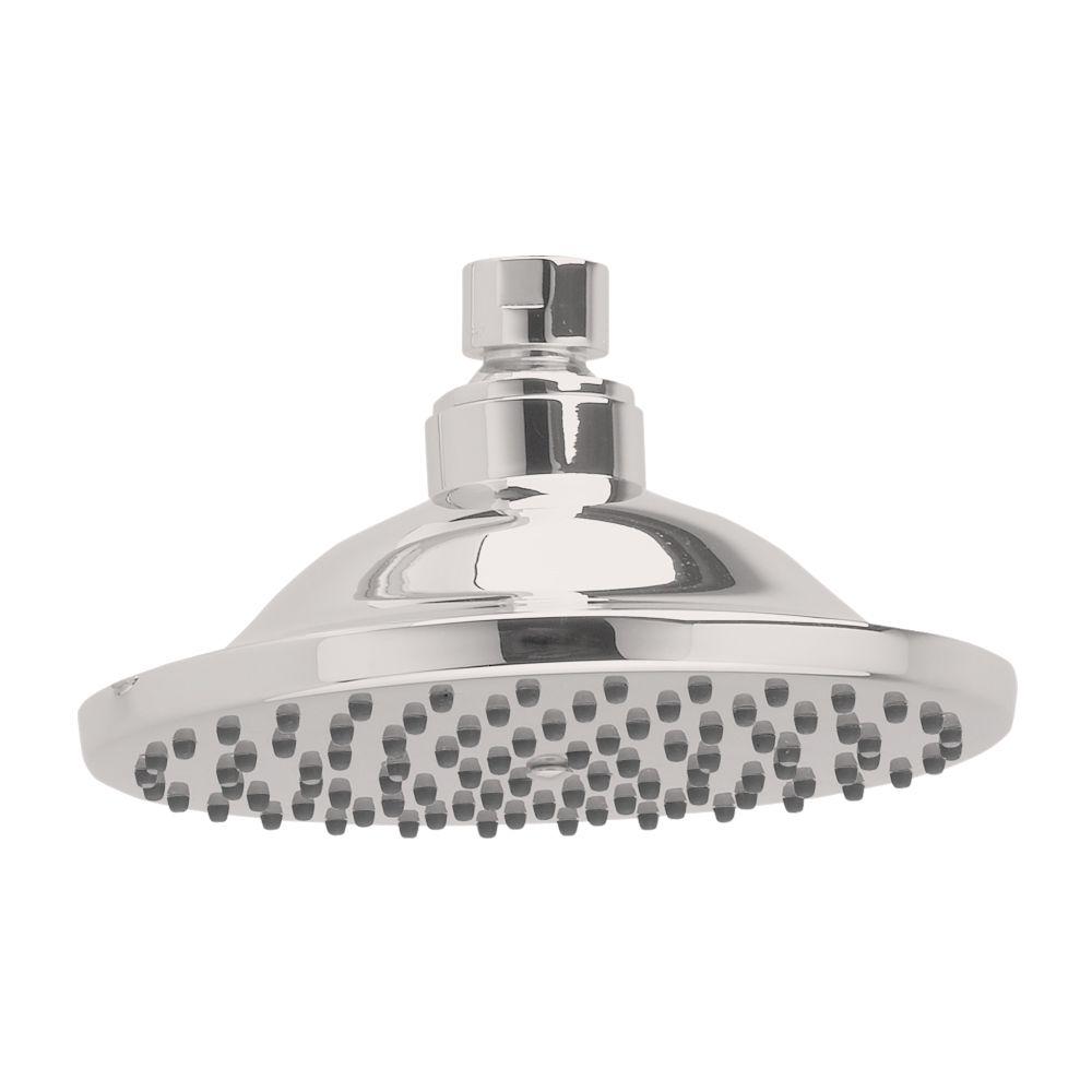 American Standard Raincan 6-inch Easy-Clean Showerhead in Satin Nickel