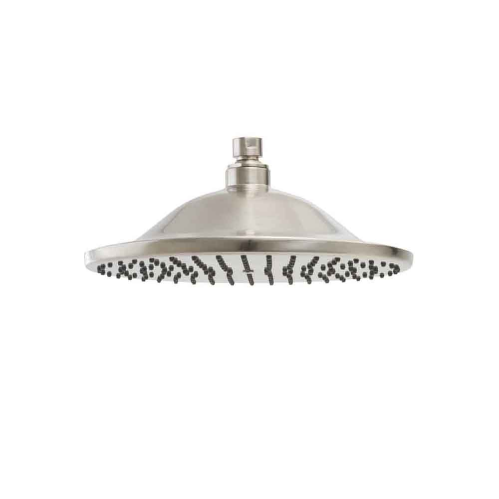 Easy-Clean 10-inch Single-Function Rain Showerhead in Satin Nickel