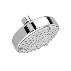 American Standard 4 3/4-inch 3-Function Raincan Easy-Clean Showerhead in Polished Chrome