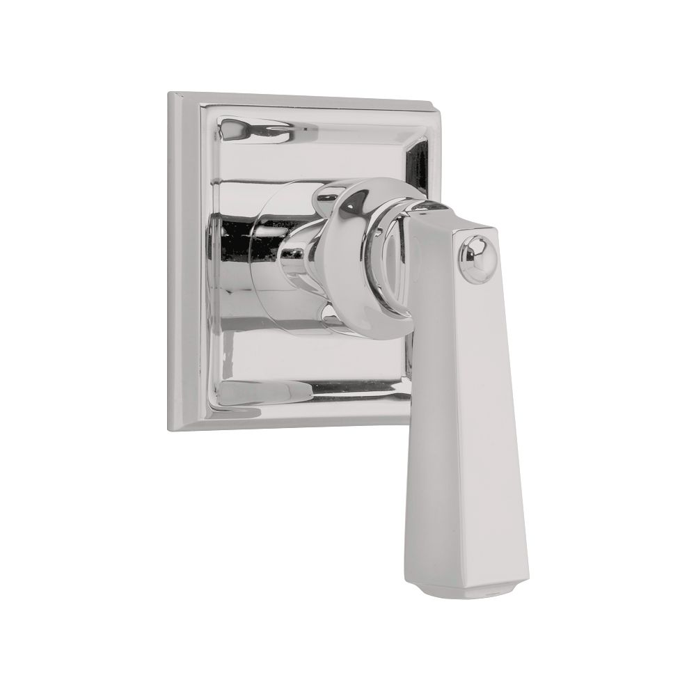 Town Square 1-Handle Diverter Valve Trim Kit in Satin Nickel with Metal Lever Handle (Valve Not I...