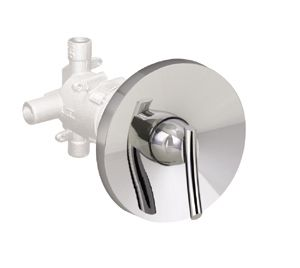 Green Tea 1-Handle Valve Trim Kit in Chrome (Valve Not Included)