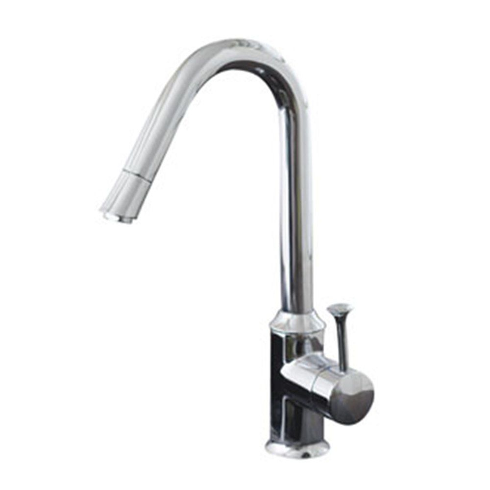 American Standard Pekoe Single-Handle Kitchen Faucet in Polished Chrome