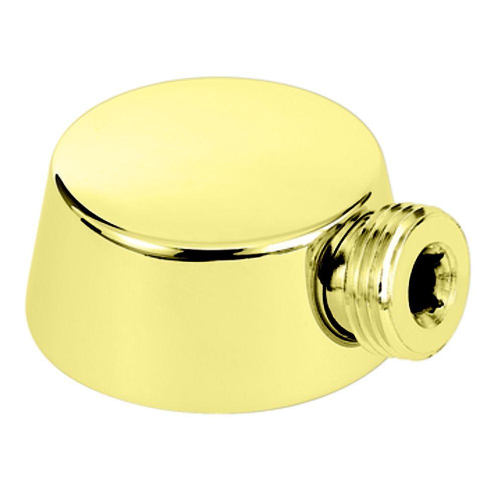 Polished Brass Drop Ell