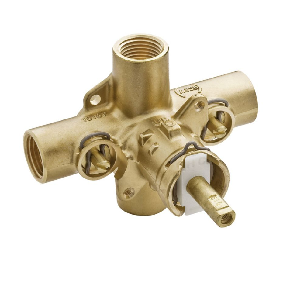 Moen Posi-Temp 1/2 Inch IPS Connection Includes Stops