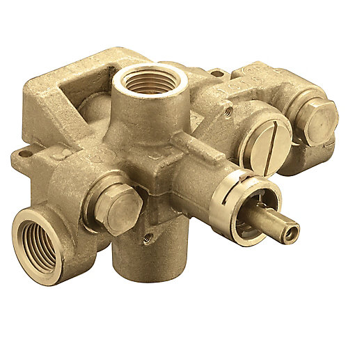 trol Pressure-Balancing Volume-Control Tub and Shower Valve with 1/2-inch IPS Connection