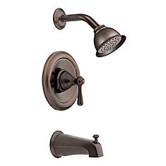 Kingsley Posi-Temp 1-Spray Tub Shower Faucet in Bronze