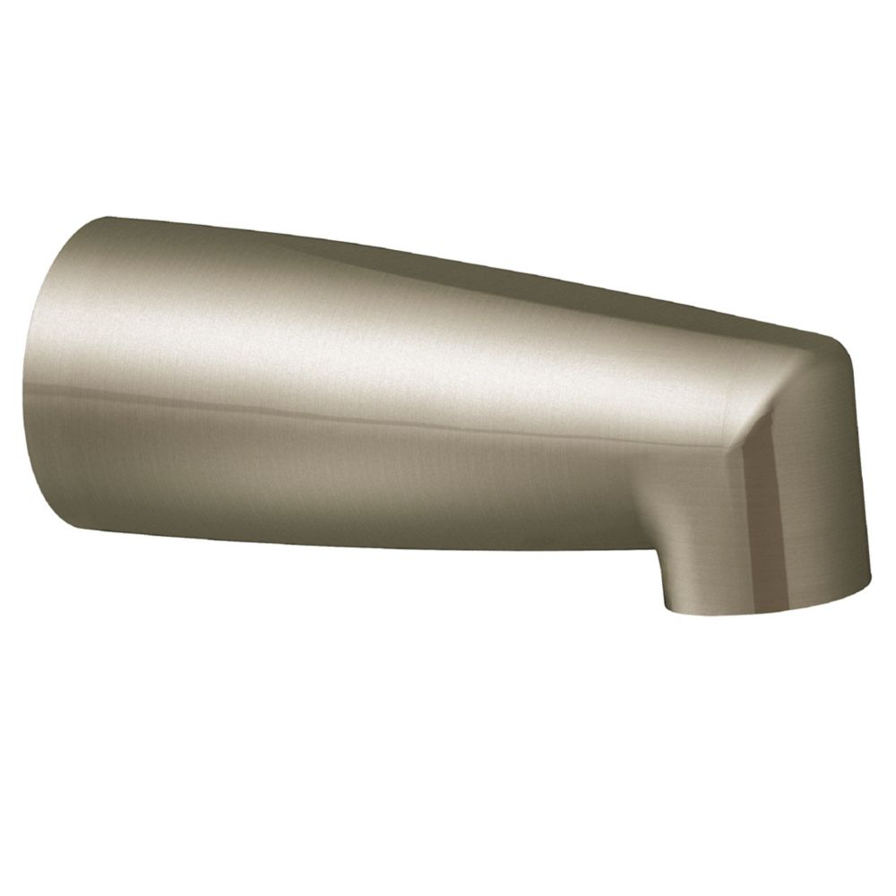 Brushed Nickel Nondiverter Spouts