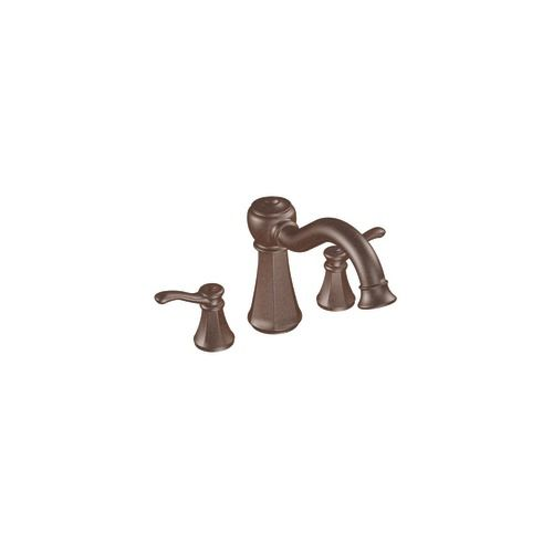 Vestige Roman Bath Faucet with Hand Shower in Oil-Rubbed Bronze Finish