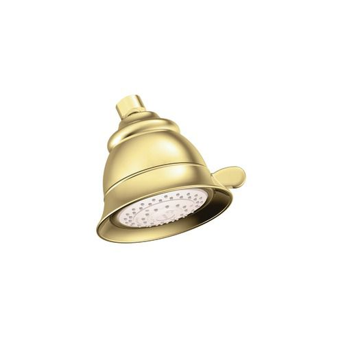 Four-Function Showerhead in Polished Brass