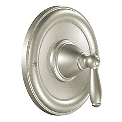 Brantford Posi-Temp Valve Trim (Trim Only) in Brushed Nickel (Valve Sold Separately)