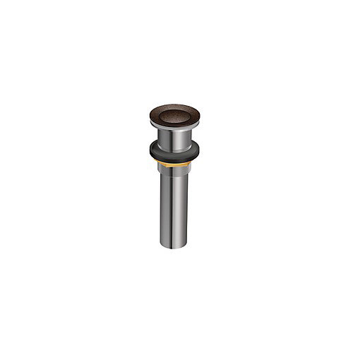 Lavatory Pop-Up Drain Assembly without Overflow in Oil Rubbed Bronze