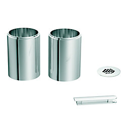 MOEN Trousse de rallonge de lavabo de surface, chrome