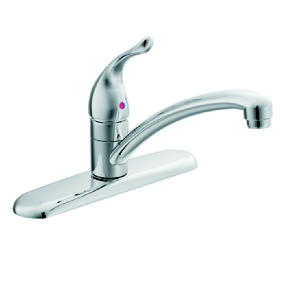 Chateau Single Handle Kitchen Faucet In Chrome