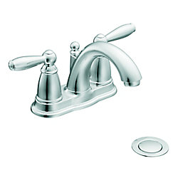 Brantford - Robinet de lavabo à 2 poignées - fini chrome