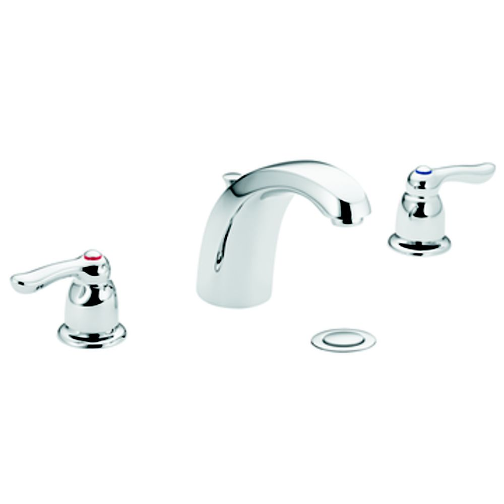 Chateau Widespread 2-Handle Bathroom Faucet in Chrome Finish