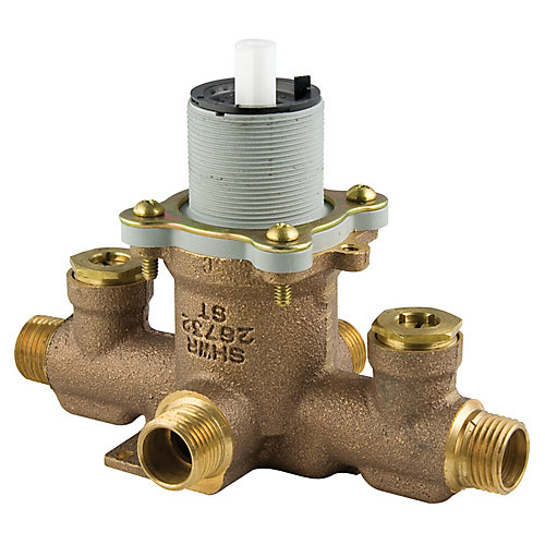 Tub and Shower Rough-in Valve With Stops