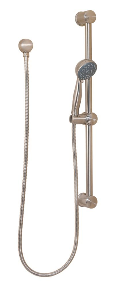 Hand Shower with Slide Bar Package in Brushed Nickel