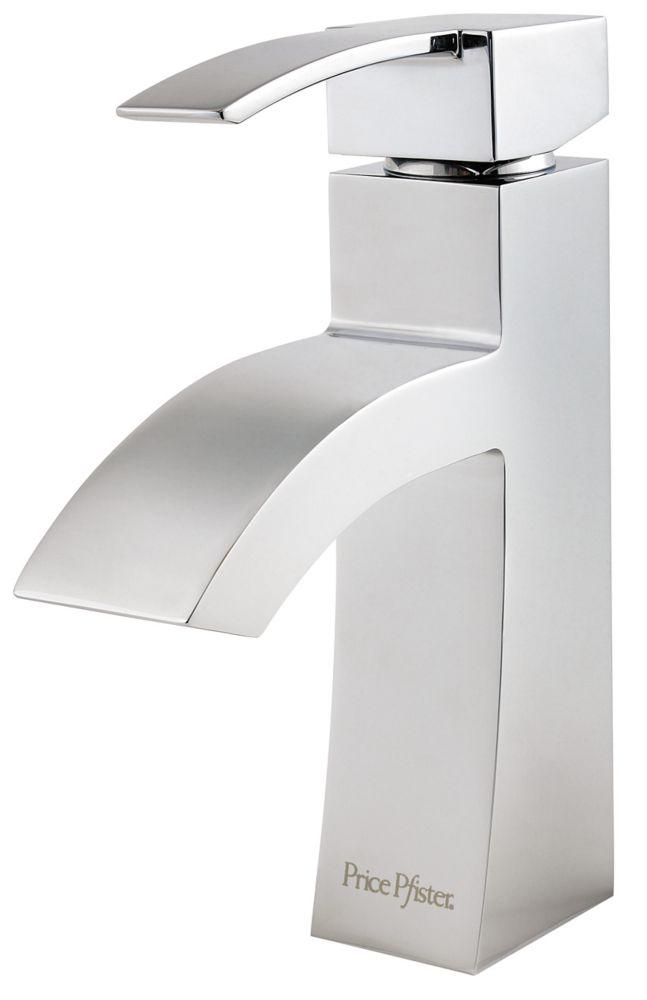 Bernini Single-Control Bathroom Faucet in Polished Chrome Finish