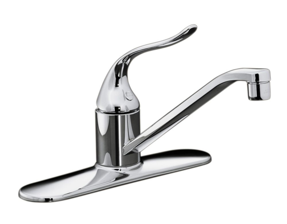 Coralais Single-Control Kitchen Sink Faucet In Polished Chrome