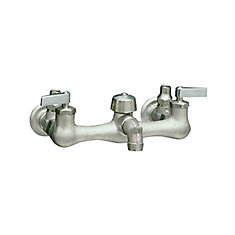 Knoxford Service Sink Faucet In Polished Chrome