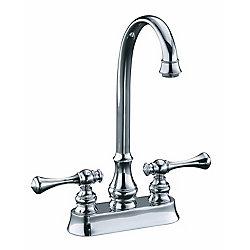 KOHLER Revival Entertainment Sink Faucet in Polished Chrome Finish